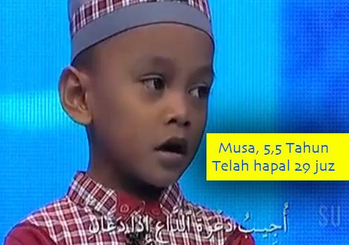 MUSA, HAFIZ QUR'AN